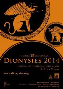 affiche Dionysies 2014